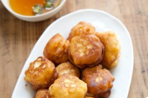 Corn Fritters, Sweet or Savory