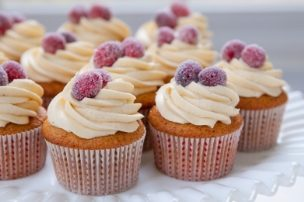 Spice Cupcakes with Brown Butter Frosting
