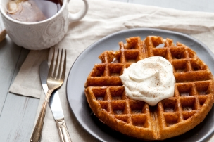 Whole Grain Chai Waffles