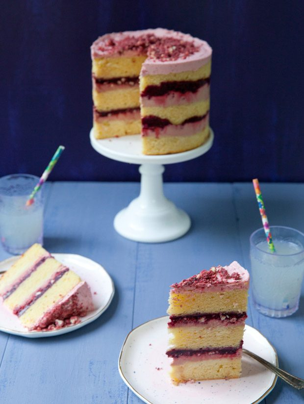 Blackberry Layer Cake