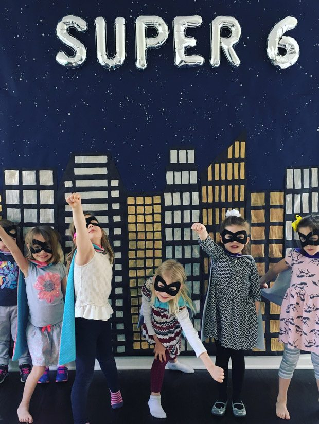 Super Six! Caroline's Superhero Birthday Party