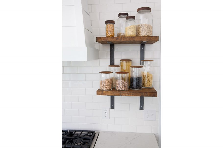 Pantry Staples as Decor
