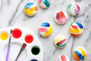 Artful Brush Stroke <span class='searchwp-highlight'>Macarons</span>