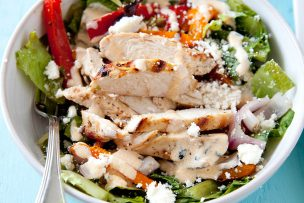 Grilled Chicken Fajita Chopped Salad