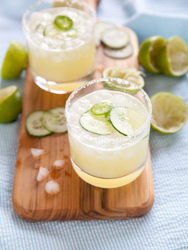 Summer Cucumber Jalapeño <span class='searchwp-highlight'>Margaritas</span>