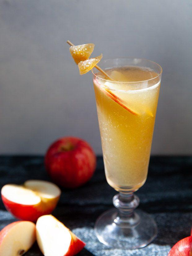 Ginger Apple Cider Cocktail