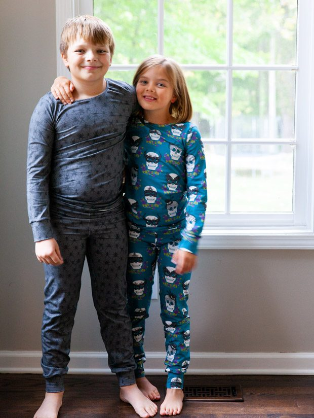 Halloween Pajamas and Tips for Batch Sewing