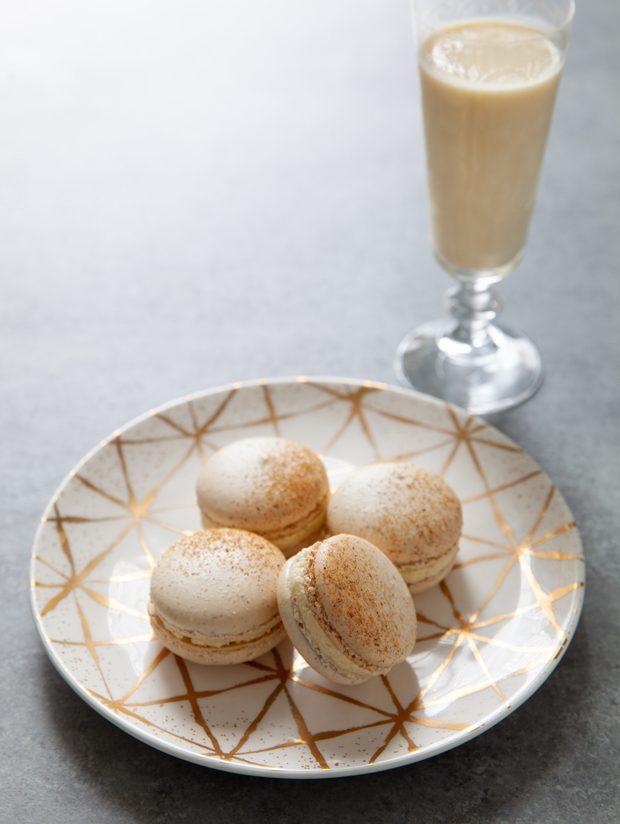Eggnog <span class='searchwp-highlight'>Macarons</span>