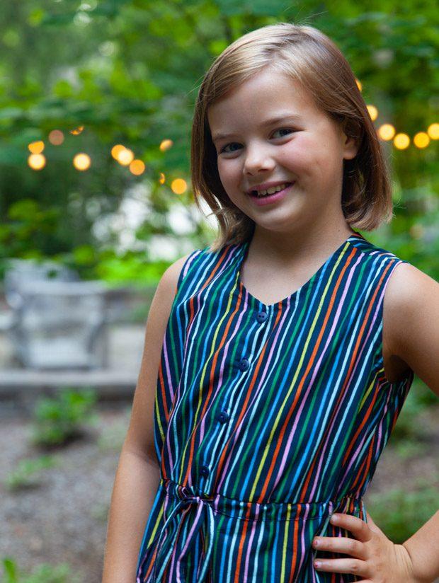 Happy Stripes Maxi Dress