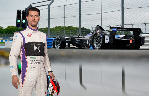 Jose Maria Lopez | DS Virgin Racing | Spacesuit Media