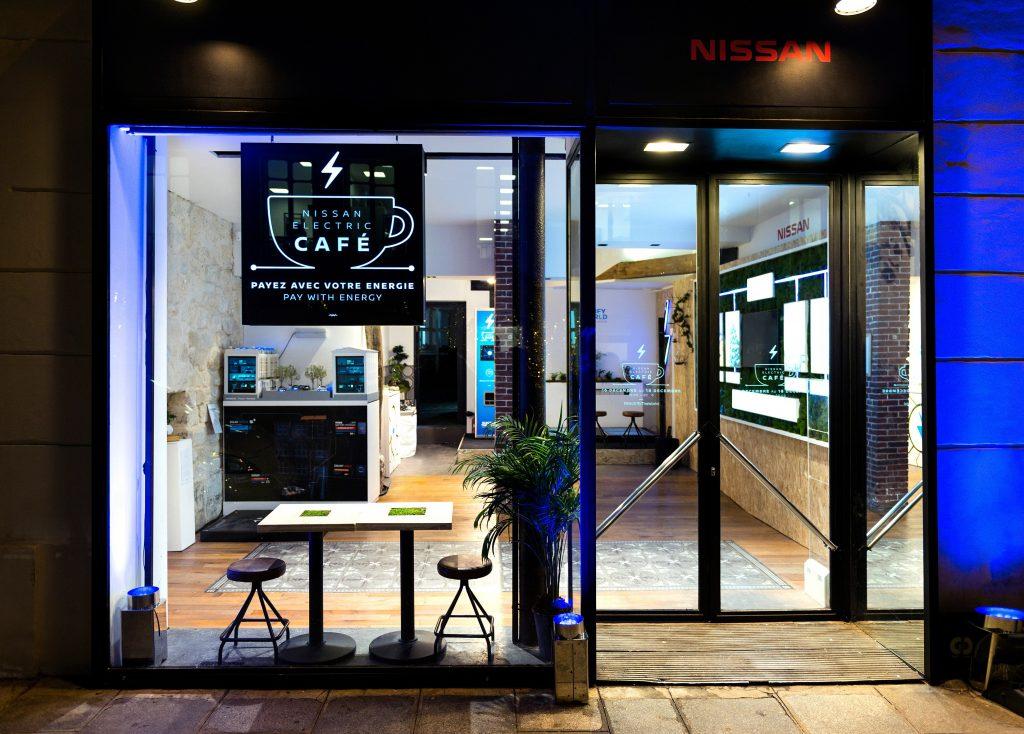 Nissan Electric Cafe Paris