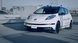 Nissan Leaf autonomous EV