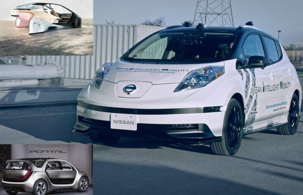 Nissan Leaf, Chrysler Portal, BMW i Inside Future