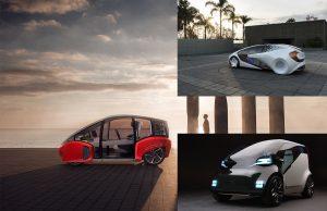 CES Show concept EV cars