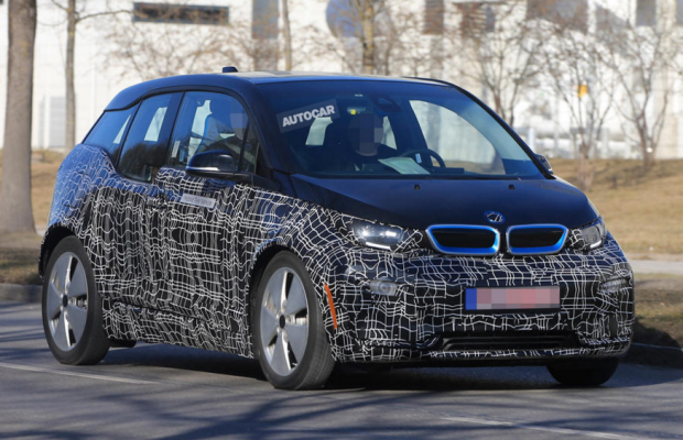 BMW i3S Frankfurt hot hatch ev electric car