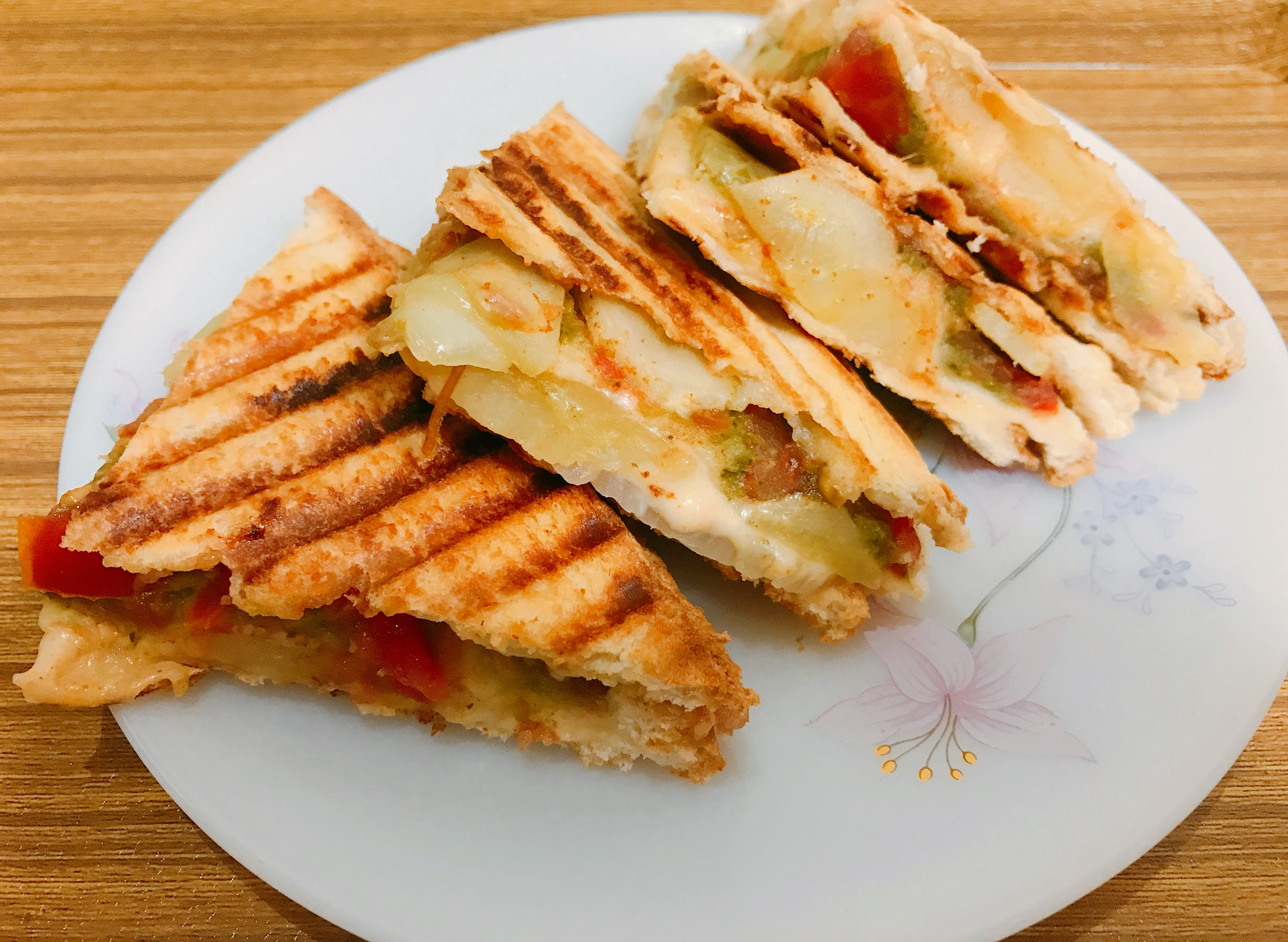 Vegetable Grilled Sandwich Your Veg Recipe