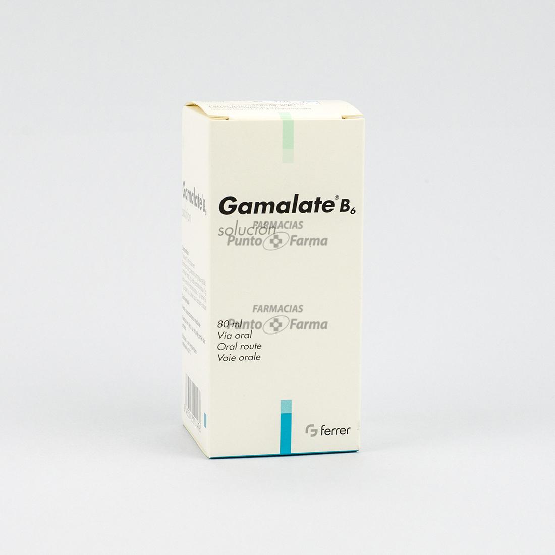 Gamalate B6 Sol Fco  X 80 Ml