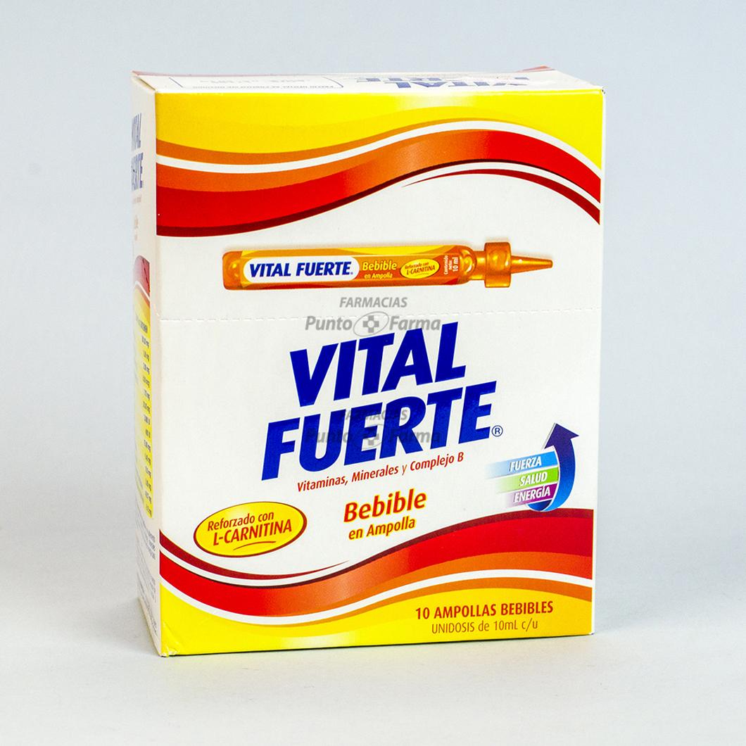 Vital Fuerte Caja X 10 Ampollas Bebibles