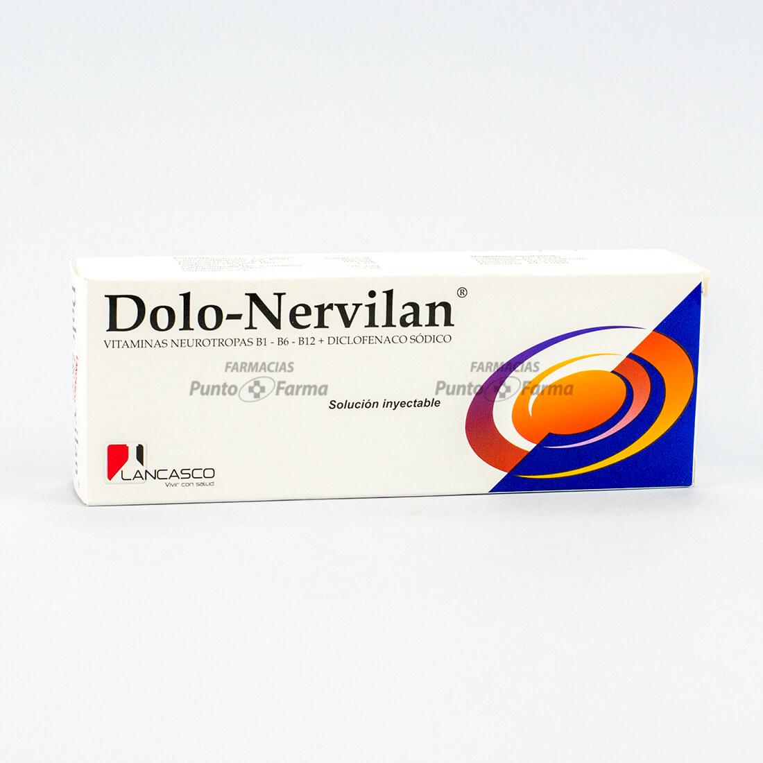 Dolo-Nervilan Caja  X 1 Ampolla Inyectada