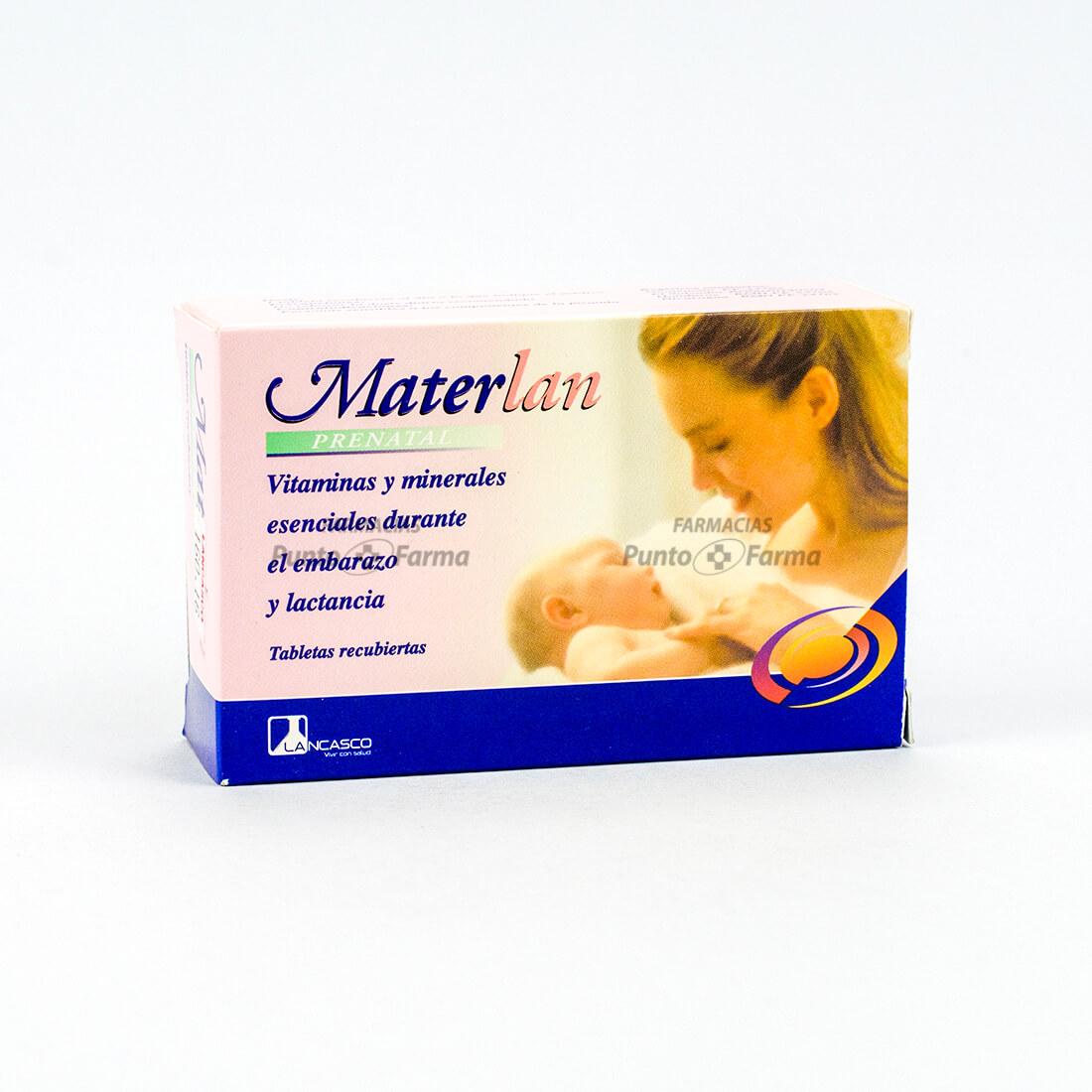 Materlan Prenatal Cja X 30 Tab