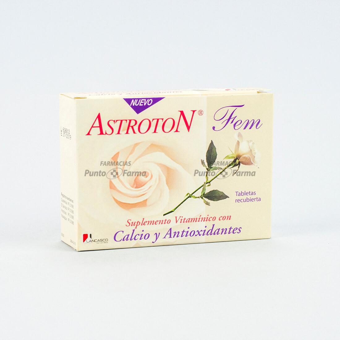 Astroton Fem Cja  X 30 Tab