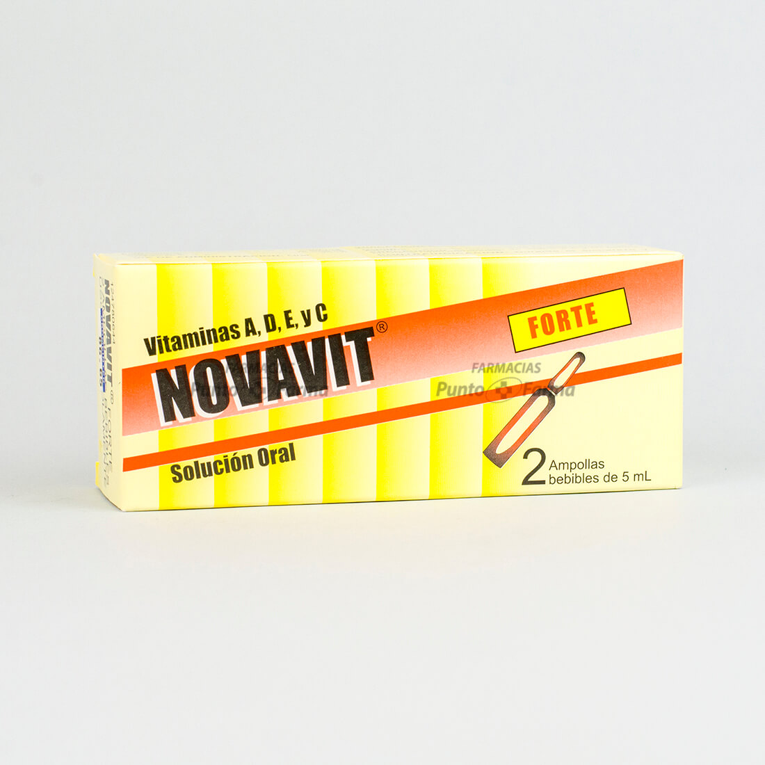 Novavit Forte Caja X 2 Ampolla Bebible