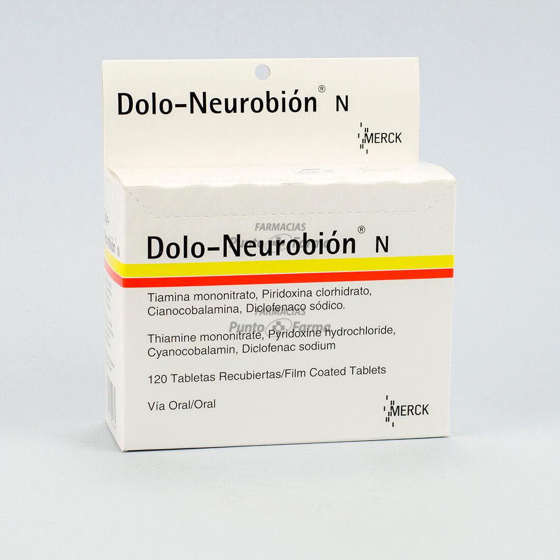 Dolo Neurobion N Caja X120 Tabletas Recubiertas