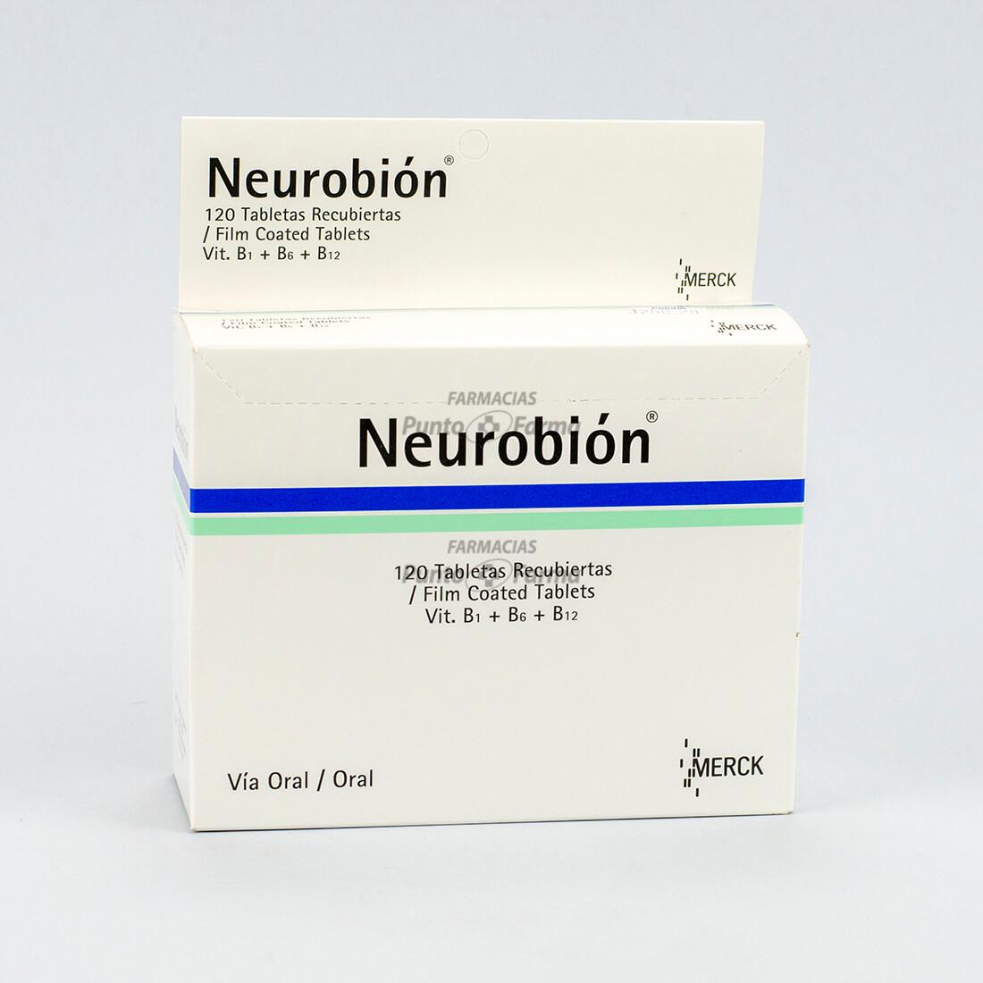 Neurobion Caja X 120 Tabletas Recubiertas