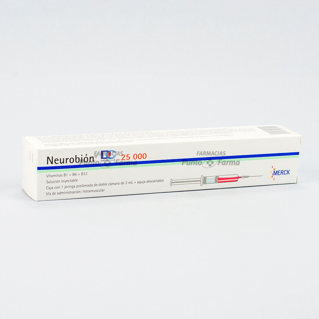 Neurobion De 25000 Ui Caja X1 Ampolla Inyectable