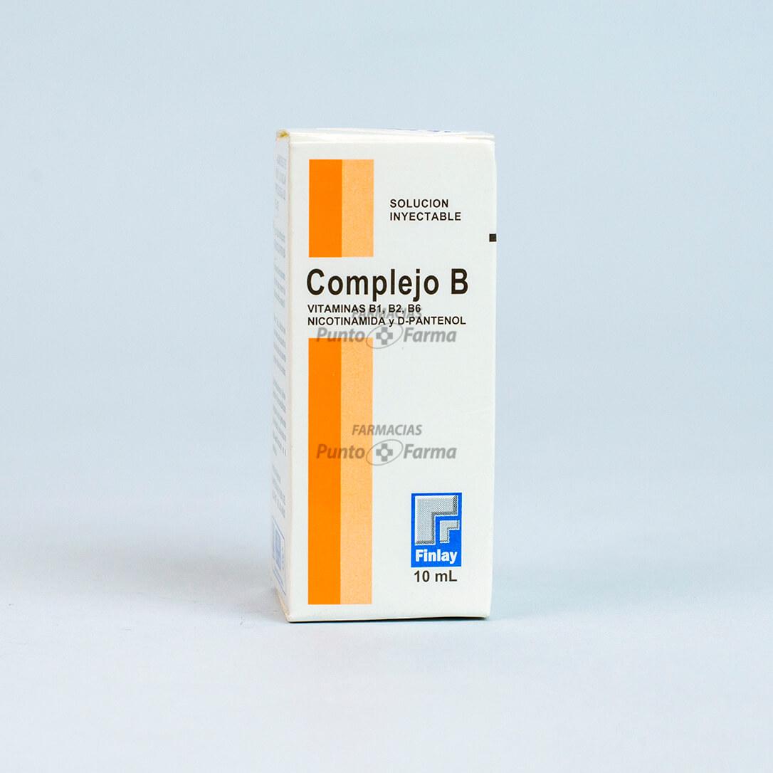 Complejo B Finlay Cjx10Ml Vial
