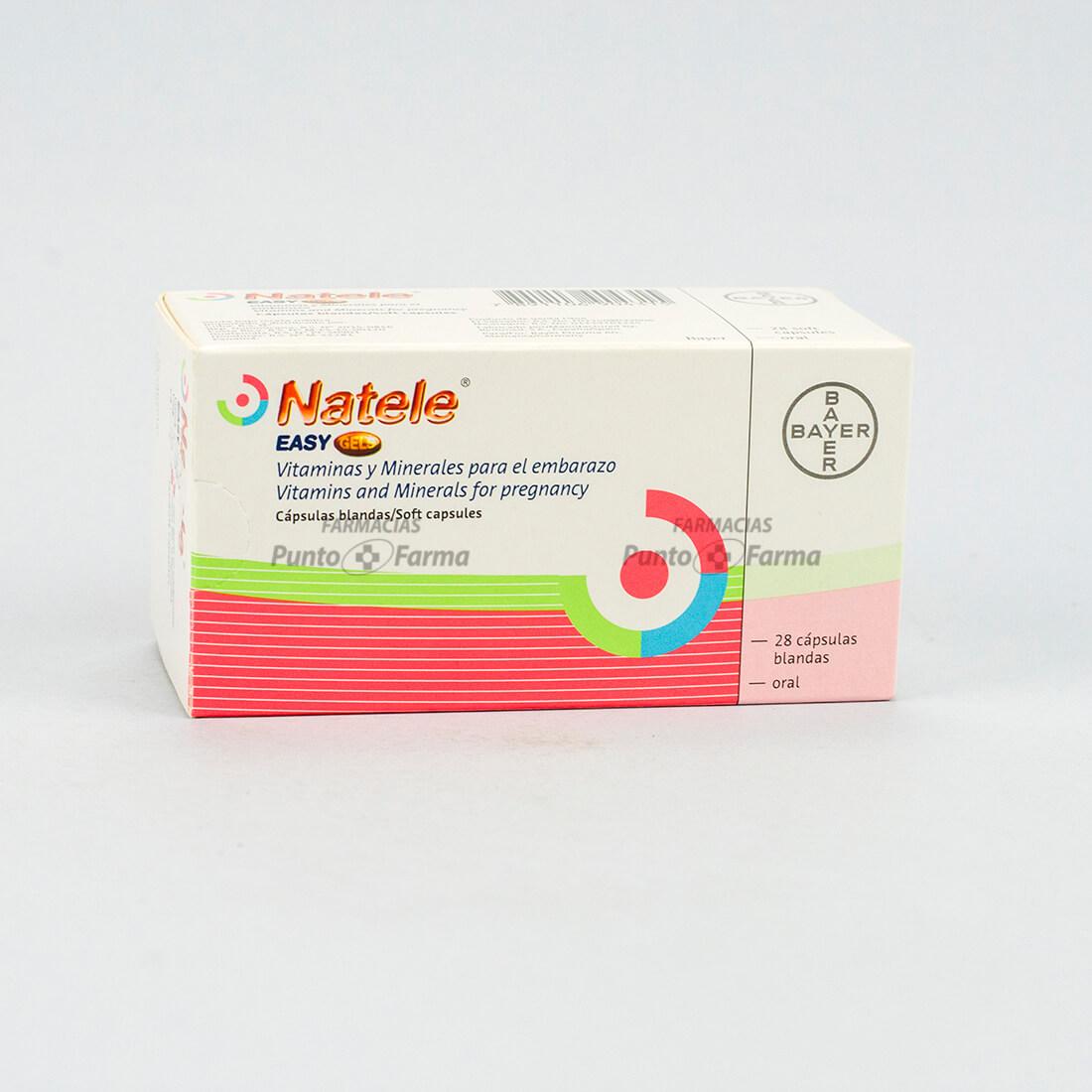 Natele Easy Gels Caja  X 28 Capsulas
