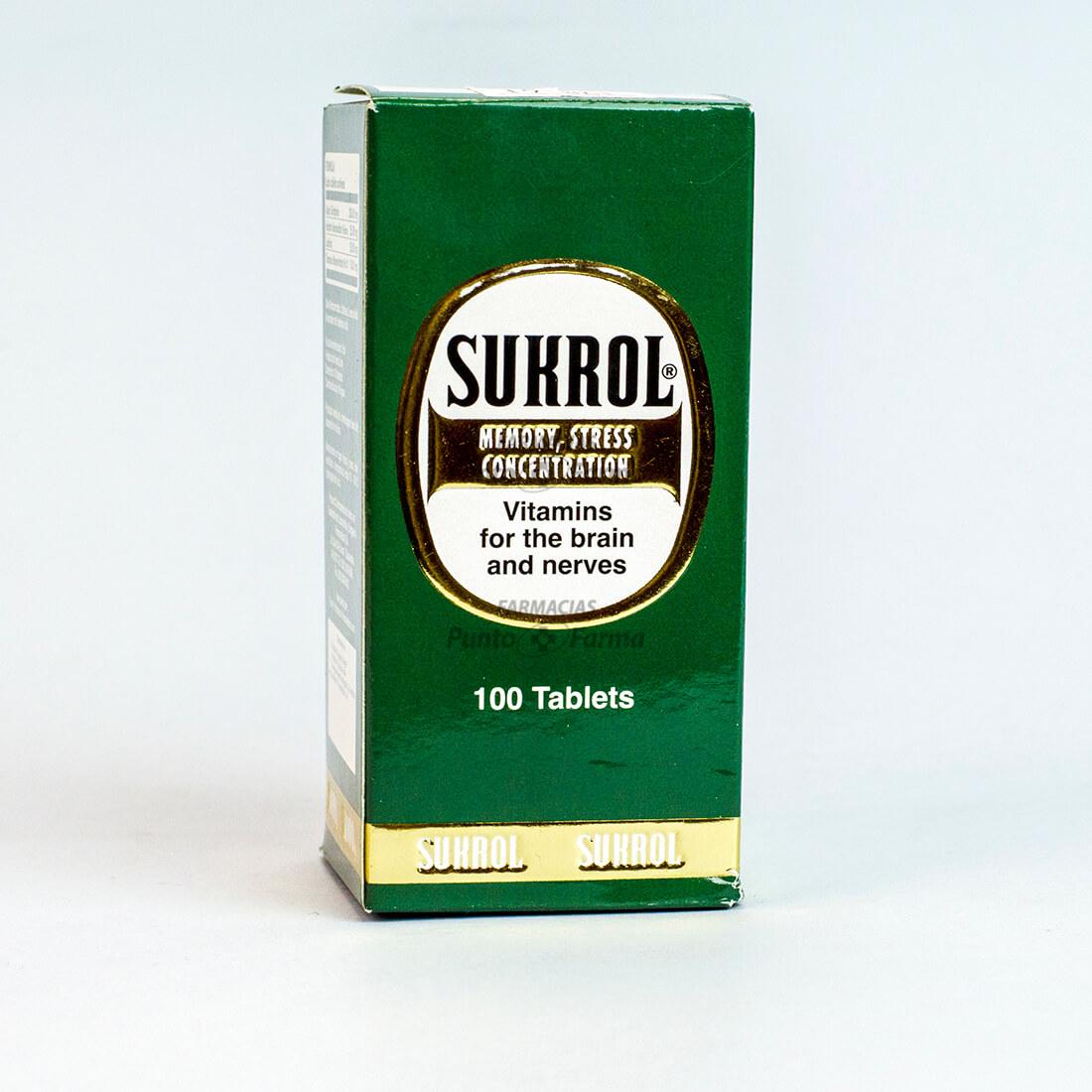 Sukrol(+10 Tabletas Gratis)Frasco X 110Tabletas