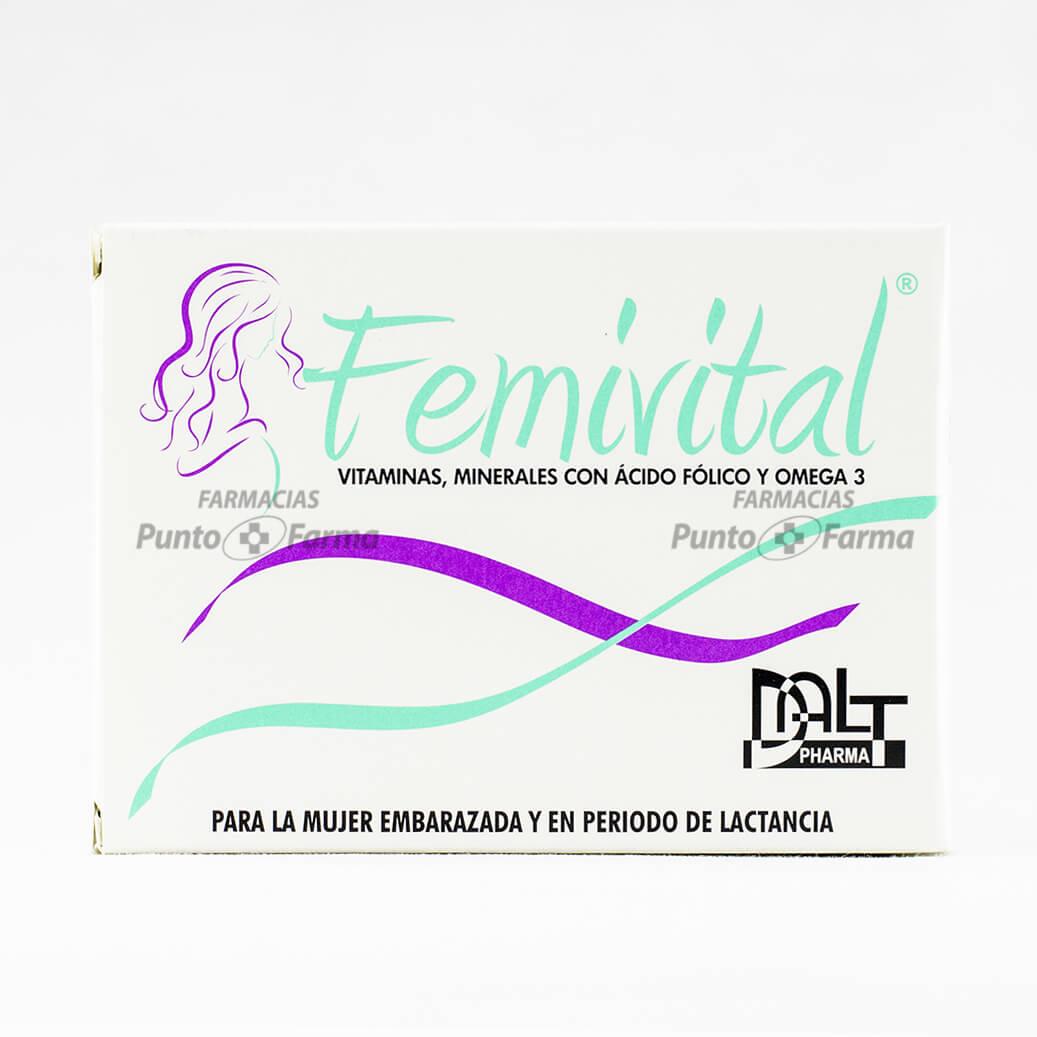 Femivital Caja X 30 Tabletas
