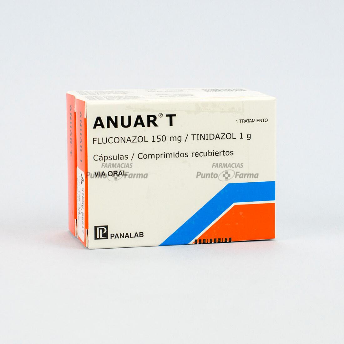 Anuar-T 150 Mg Caja X 3 Tabletas