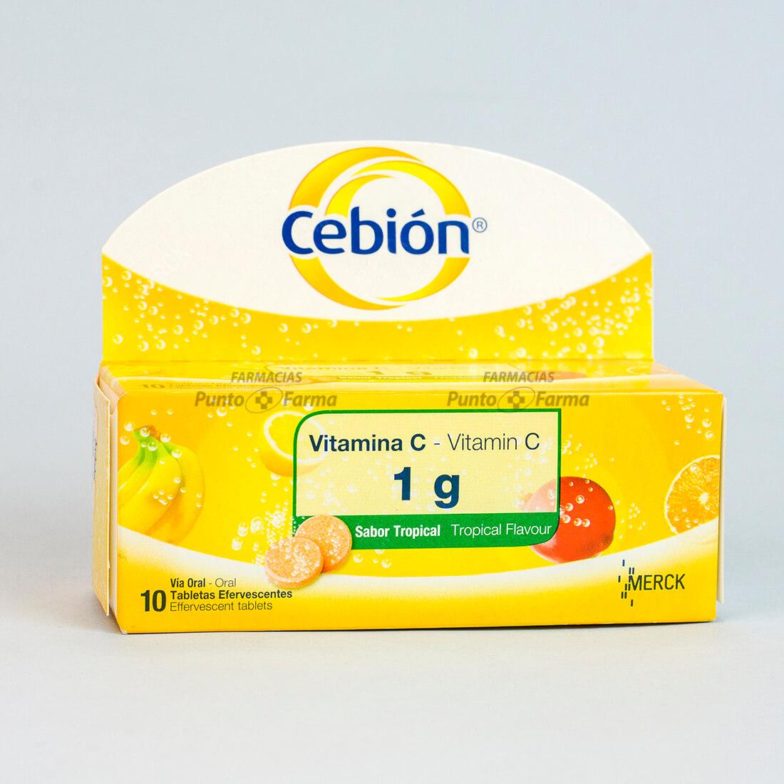 CEBION VIT C NJA TABEF1gx10TAB