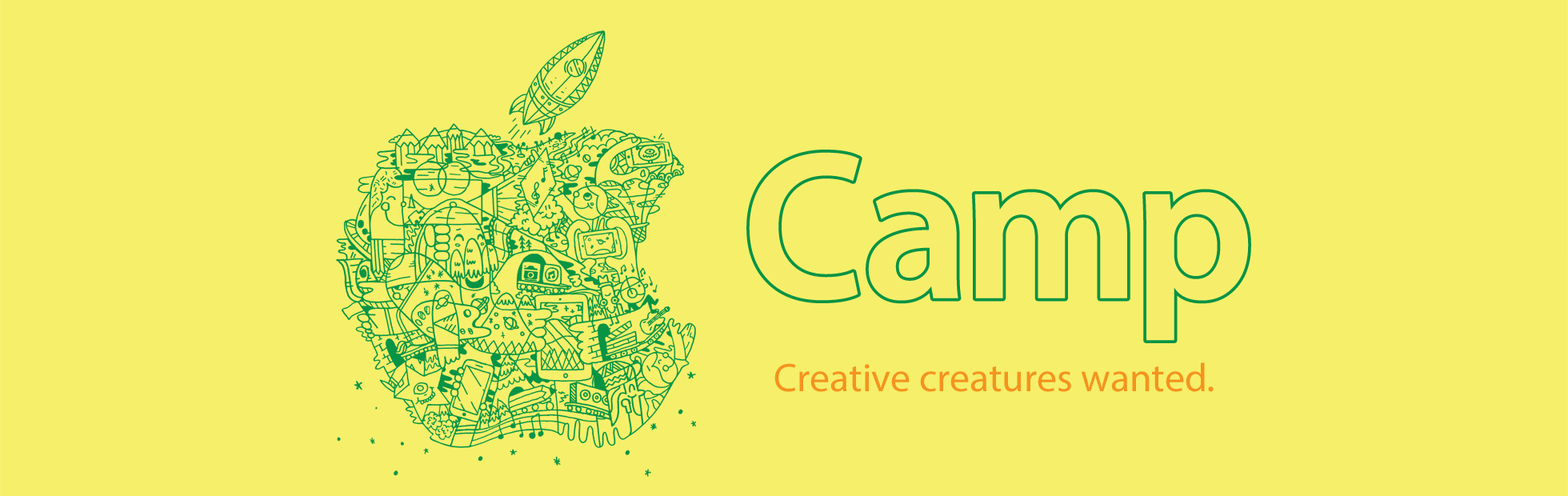  Camp. Creative creatures wanted.