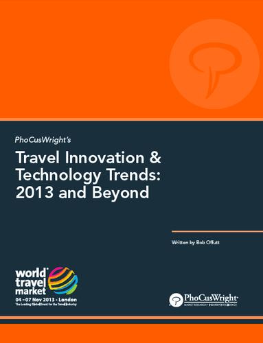 Travel Tech Trends 2013