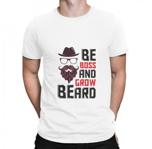 Hipster t shirt   be boss