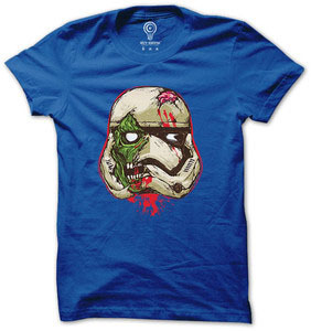 Star wars t shirt stormtrooper zombie