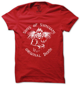 Anime t shirt original death