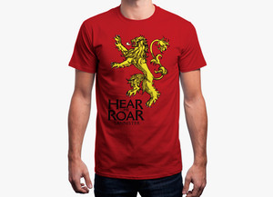 Game of thrones t shirt   hear me roar