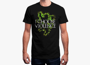 Game of thrones t shirt   i choose violence