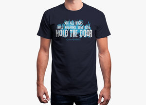 Game of thrones t shirt   hold the door