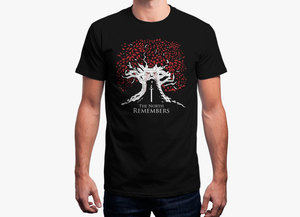 Game of thrones t shirt   weirdwood tree