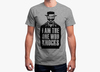 Breaking bad t shirt   i am the one