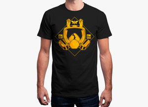 Breaking bad t shirt   gas mask