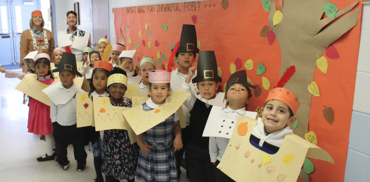 AM Pre-K Thanksgiving Pilgrims and Indians