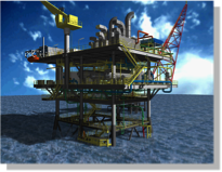 SEMPEC / KODECO - Poleng Platform - 2007