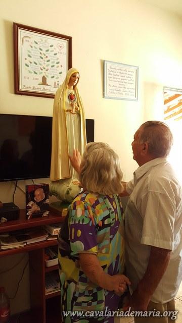Em Porangaba – SP, Missões para Cristo com Maria