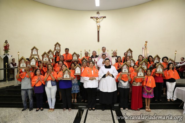 Em Porangaba – SP, no Domingo Laetare, encerramento de semana missionária